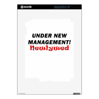 Under New Management Newlywed Decal For iPad 2