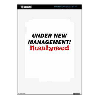 Under New Management Newlywed Decal For iPad 3