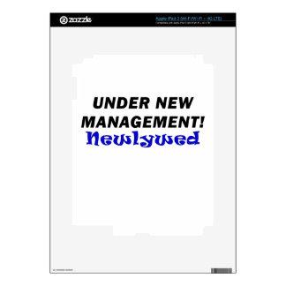 Under New Management Newlywed iPad 3 Skin
