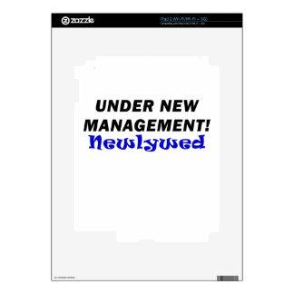 Under New Management Newlywed iPad 2 Skins