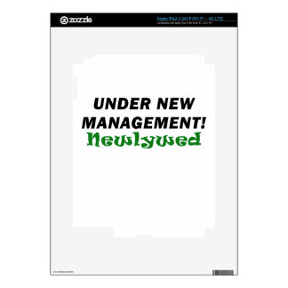 Under New Management Newlywed iPad 3 Decal