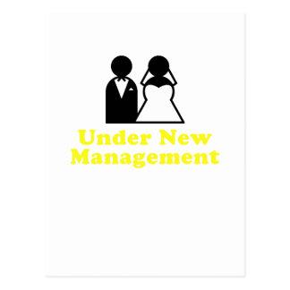 Under New Management Postcard