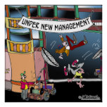 Under New Management Posters