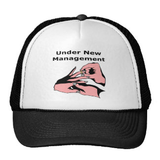 Under New Management Trucker Hat
