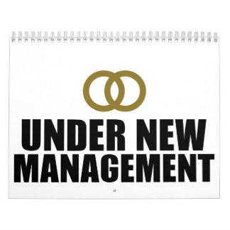 Under New Management Wedding Calendar