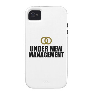 Under New Management Wedding Case-Mate iPhone 4 Covers
