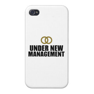 Under New Management Wedding Cover For iPhone 4
