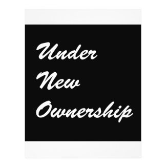 Under New Ownership Flyer