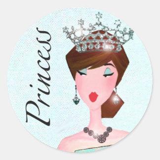 Under One Tiara I Stand / Princess stickers