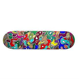 Under Over Skateboard Deck