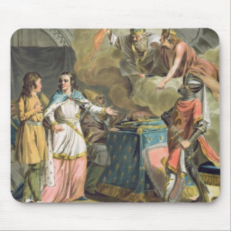 Under Philippe le Bel (1268-1312) the State of Tie Mouse Pad