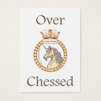 Under Played Chess Business Card