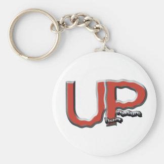 Under Pressure Logo Keychain
