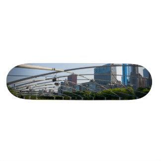 Under Pritzker Pavilion Skateboard