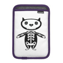 under protection by the almighty Cat Skeleton iPad Mini Sleeve