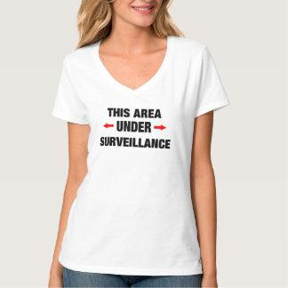 UNDER SURVEILLANCE FUNNY WOMEN T-Shirt