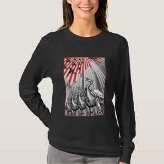 Under Surveillance Ladies Longsleeve T-Shirt