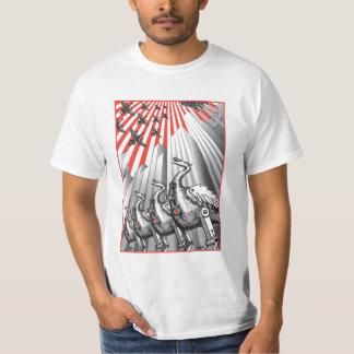 Under Surveillance White T-Shirt