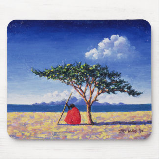 Under the Acacia Tree 1991 Mouse Pad