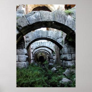 Under the Amphitheater Print