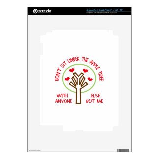 UNDER THE APPLE TREE SKIN FOR iPad 3
