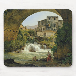 Under the arch of a bridge in Italy, 1822 Mouse Pad