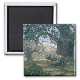 Under The Baobab Tree Magnets