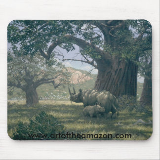 Under The Baobab Tree Mouse Pad