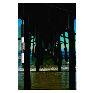 Under the Beautiful Pier of Newport Beach Dry-Erase Board
