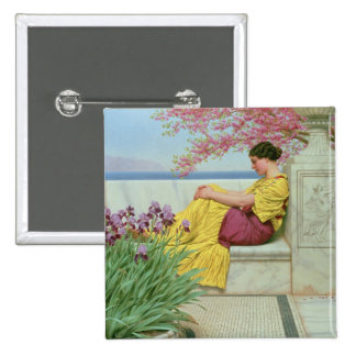 Under the Blossom that Hangs on the Bough, 1917 2 Inch Square Button