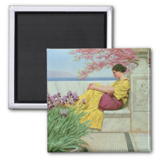 Under the Blossom that Hangs on the Bough, 1917 2 Inch Square Magnet