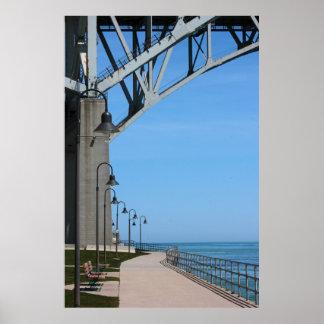 Under the Blue Water Bridge Poster