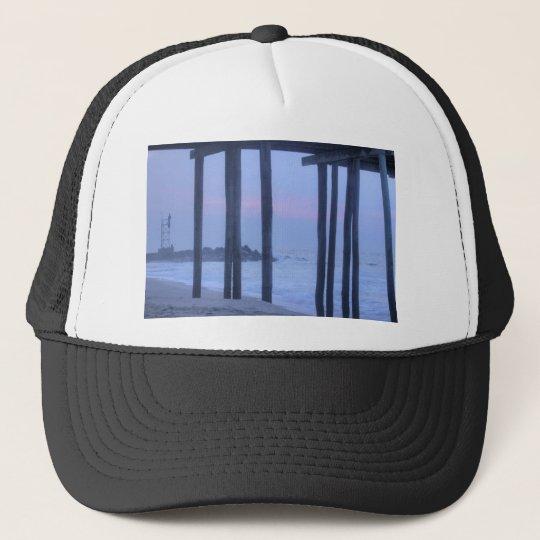 "Under the Boardwalk ""beach photo"" ""beach shirt"" Trucker Hat"