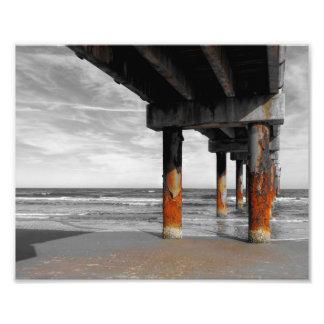 Under The Boardwalk Photo Print