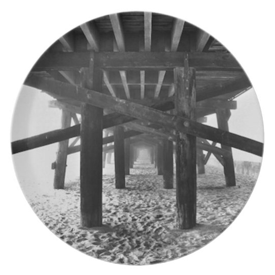 Under the Boardwalk Plate