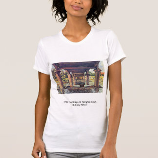 Under The Bridge At Hampton Court By Sisley Alfred T-shirts