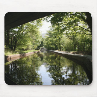 Under the Bridge Llangollen Canal Mousepad