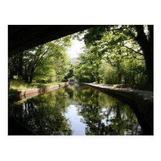 Under the Bridge Llangollen Canal Postcard