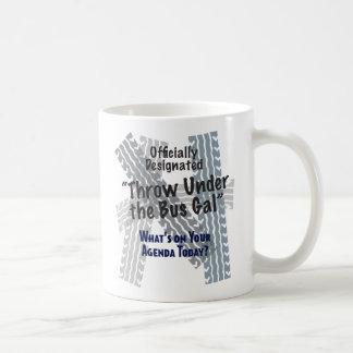 Under The Bus Classic White Mug