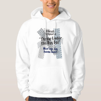 Under The Bus Gal Basic Hooded Sweatshirt