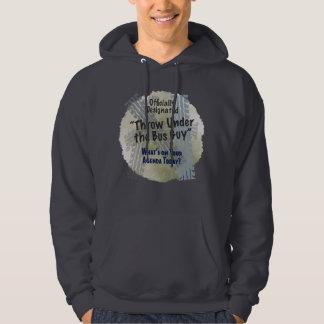Under The Bus Guy 2 Basic Dark Hooded Sweatshirt