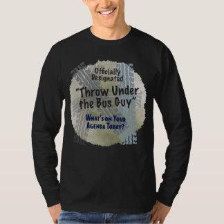 Under The Bus Guy 2 Basic Dark Long Sleeve T Shirt