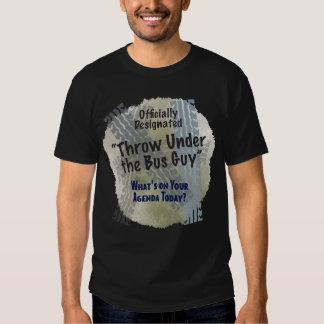 Under The Bus Guy 2 Basic Dark T-Shirt