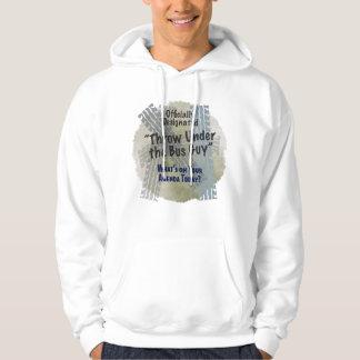 Under The Bus Guy 2 Basic Hooded Sweatshirt