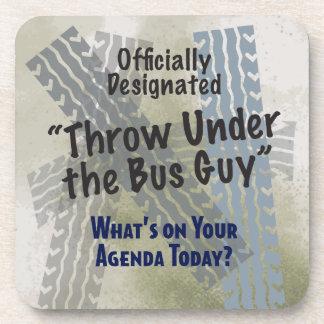Under The Bus Guy Cork Coaster