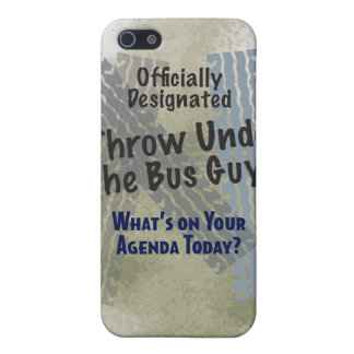 Under The Bus Guy iPhone 4/4S Hard Shell Case