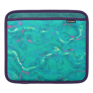 Under the Caribbean Sea Abstract Art Sleeve For iPads