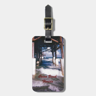 Under the Cocoa Beach Pier Personalized Luggage Tag