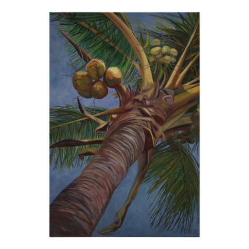 Under the Coconut Tree Poster