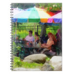 Under the Colorful Umbrellas Notebooks